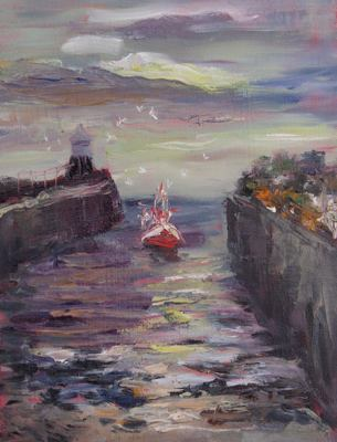 gina_wright_arriving_at_pittenweem_harbour_oil.jpg