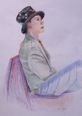 gina_wright_funky_hat_coloured_pencils.jpg