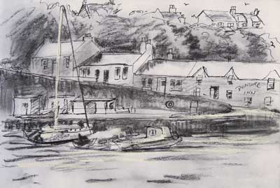 gina_wright_dunure_harbour_ayrshire_pencil_and_ink_sketch.jpg