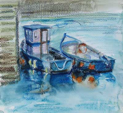 gina_wright_boats_stonehaven_harbour_watercolour_wax_pastel_sketch.jpg