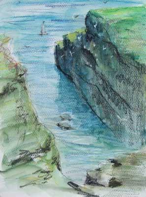 gina_wright_fowlsheugh_nature_reserve_watercolour_wax_pastel_sketch.jpg