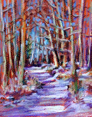 gina_wright_snow_in_the_forest_oil_pastel.jpg