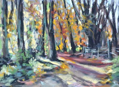 gina_wright_forest_at_morton_loch_pastel