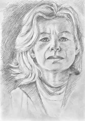 gina_wright_self_portrait_sketch_pencil