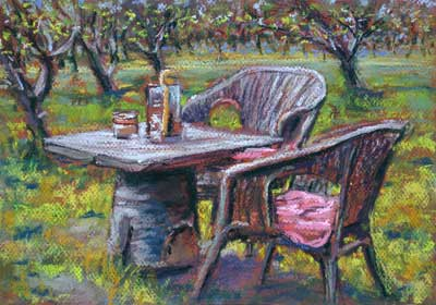 gina_wright_the_orchard_pastel