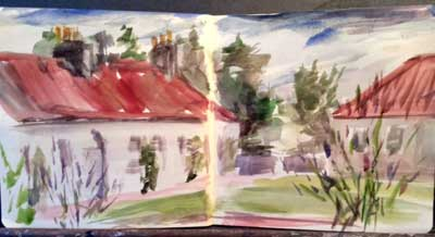 gina_wright_balmerino_memorial_cottages_sketch_book