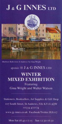 Advert for Winter Exhibition
