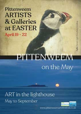 Poster for Pittenweem at Easter and on the May